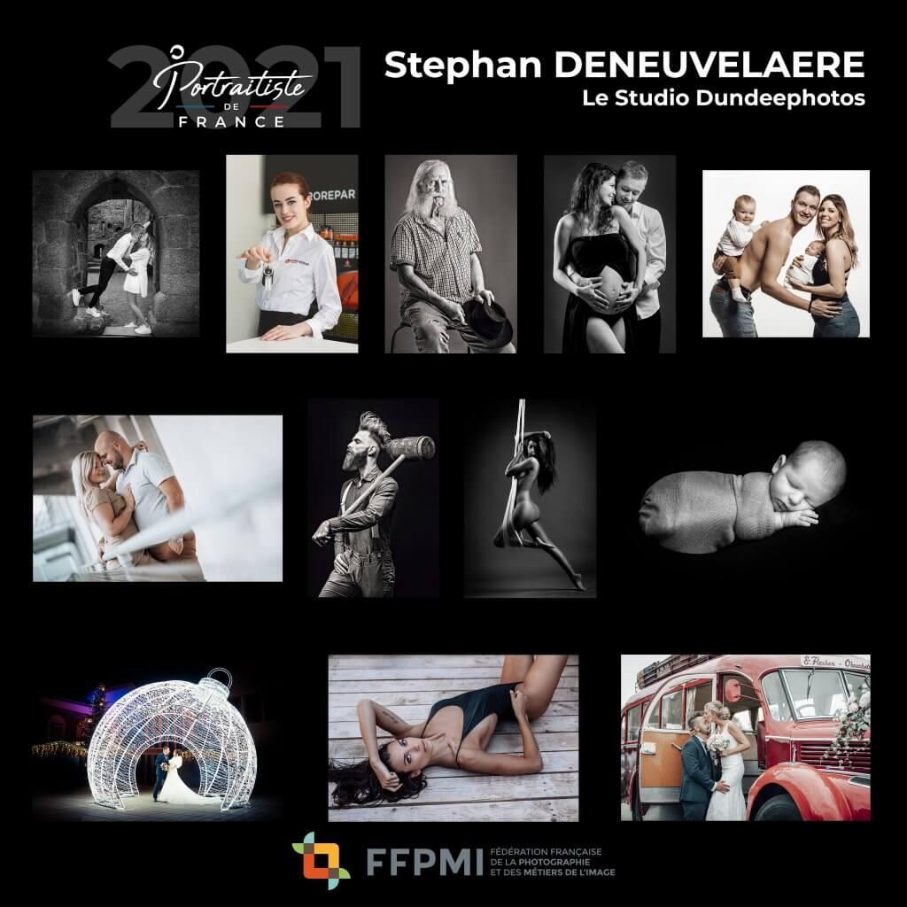 Stephan Deneuvelaere élu portraitiste de France 2021